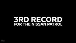 رکورد نیسان پاترول در گینس - Nissan Patrol