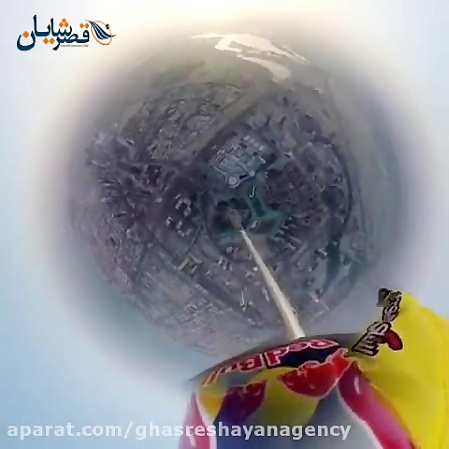 پرواز در آسمان های دبی - قصر شایان