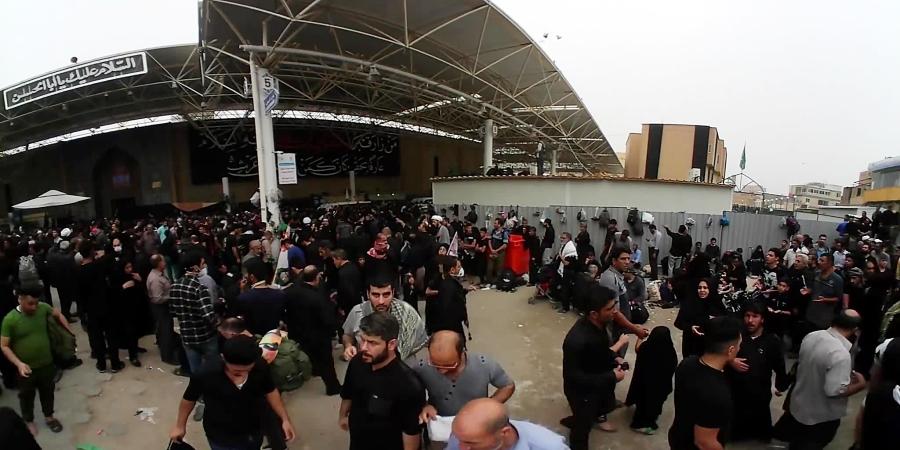 ویدیو 360 درجه ورودی حرم حضرت علی (ع)