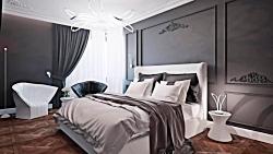 ایده های از کاربرد رنگ خاکستری در طراحی داخلی منزل