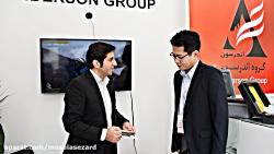 مصاحبه با نماینده ی شرکت کیوریتسوی ژاپن در نمایشگاه بین المللی صنعت برق