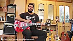 آموزش گیتار الکتریک سبک راک ن رول توسط محم صابرد