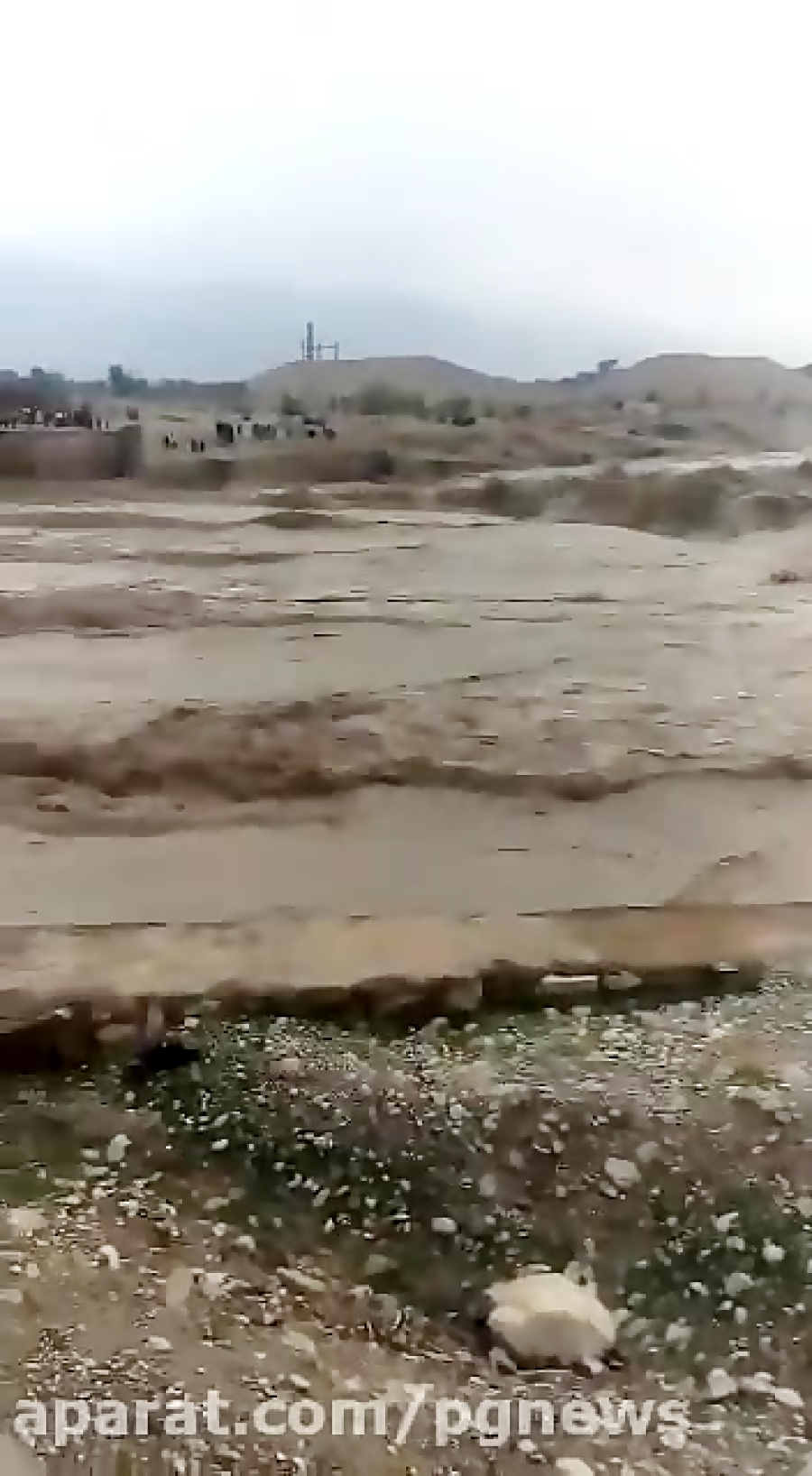 رودخانه دالکی به راه افتاد