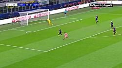 خلاصه بازی اینترمیلان 1-1 بارسلونا (HD)