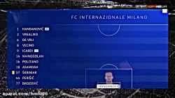 خلاصه بازی اینتر 1 - 1 بارسلونا