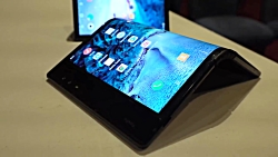 نگاه نزدیک به اولین گوشی هوشمند دنیا با صفحه نمایش تاشدنی