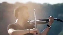 ویولن نوازی بسیار زیبا ...