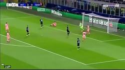 خلاصه بازی اینترمیلان و بارسلونا 1-1
