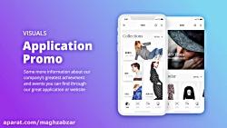 پروژه افترافکت پرزنتیشن اپلیکیشن Thex App Presentation