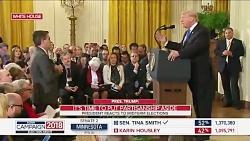 خشم ترامپ از سوال خبرنگار سی ان ان
