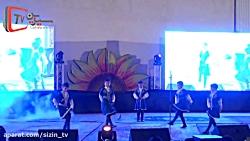 رقص آذربایجانی گروهی از هنرمندان نوجوان آذربایجان