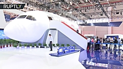 New joint Russia-China passenger jet mockup unveiled at Zhuhai airshow