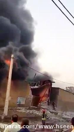 آتش سوزی مهیب