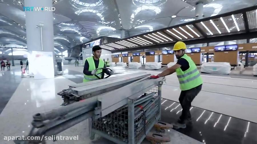 فرودگاه جدید استانبول - سلین سیر - 01