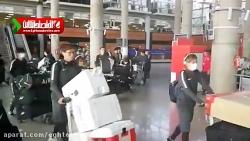 تیم کاشیما وارد تهران شد
