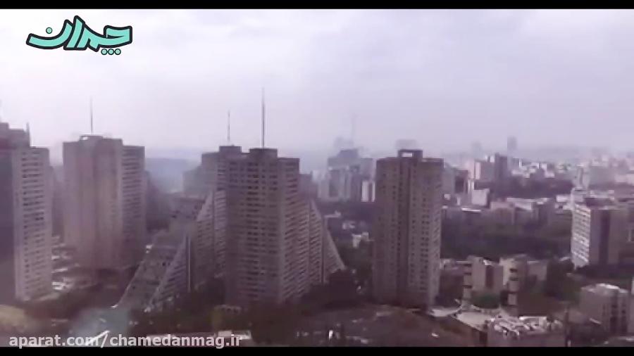 ویدیو منتشر شده در صفحه توييترى لیگ قهرمانان آسیا از تهران
