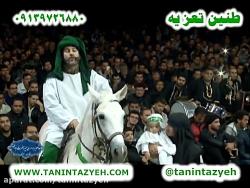 تیر خوردن و شهادت حضرت علی اصغر(ع) گیوه کش تعزیه قودجان