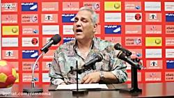 مهران مدیری و مربی های فوتبالی - سکانس خنده دار مجموعه طنز عطسه