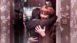 Harry and Ron and Hermione