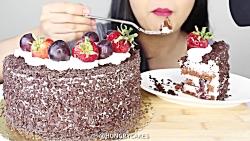 ❤چالش غذاخوری_پارت هفتم(کیک)❤