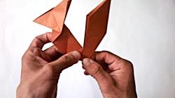 Origami ardilla de papel - How to make a paper Squirrel