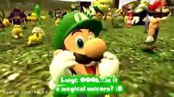 اگر ماریو قلعه داشته باشه