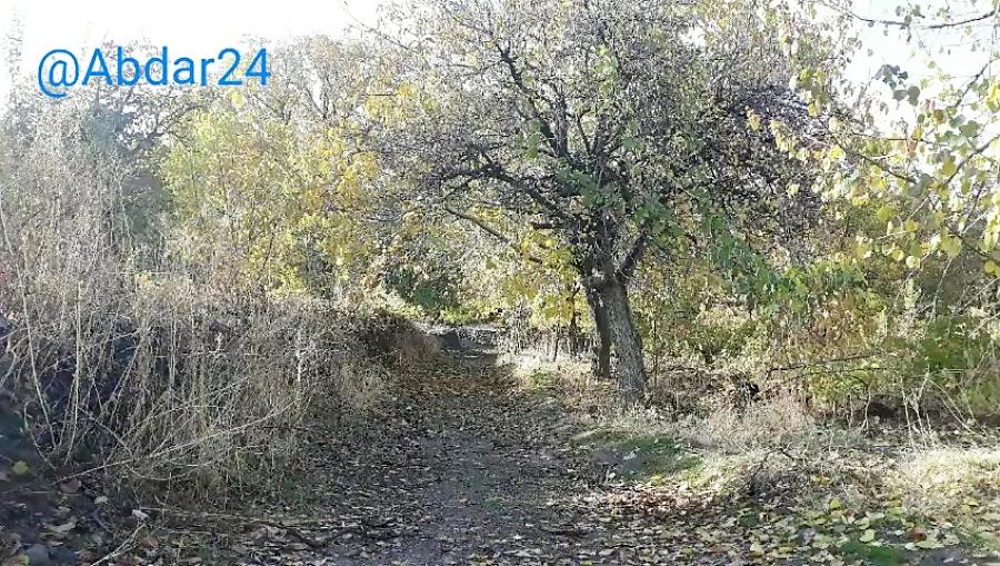 یه روز بارانی در روستای آبدر آبان ۹۷