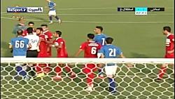 خلاصه بازی نساجی مازندران 2-0 استقلال خوزستان