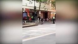 لحظه حمله تروریستی داعش در ملبورن استرالیا!