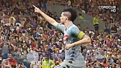 گیم پلی بازی جیونا و ناپولی در PES 2019