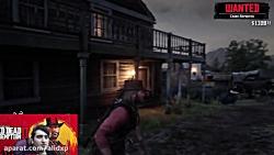 پارت 15 بازی red dead 2 صفینه فضایی و قاتل سریالی سریالی | red dead 2 part15