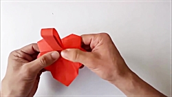 how to make an origami paper basket