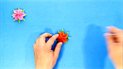 Fast and easy paper flowers - Origami roses - Origami Easy Crafts