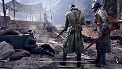 """تمام میان پرده های مرحله داستانی """"Triailleur"""" بازی """"Battlefield 5"""