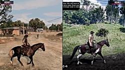 Red Dead Redemption 2 vs. Red Dead Redemption Graphics Comparison