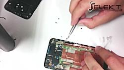 راهنمای ویدیویی تعویض مجموعه صفحه نمایش HTC One M7