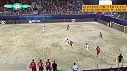 خلاصه بازی تیم ملی ایران و مصر - نیمه نهایی جام بین قاره ای