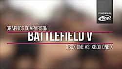 بررسی گرافیکی Battlefield 5 با xbox one و xbox one x