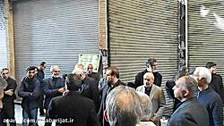 محمد دادکان در عزاداری هیات بازار تهران