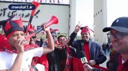 مصاحبه با هواداران پرسپولیس درباره بازی با کاشیما