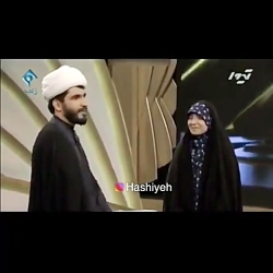 اصرار علی ضیا به روحانی جوان تا به همسرش بگه دوست دارم!!