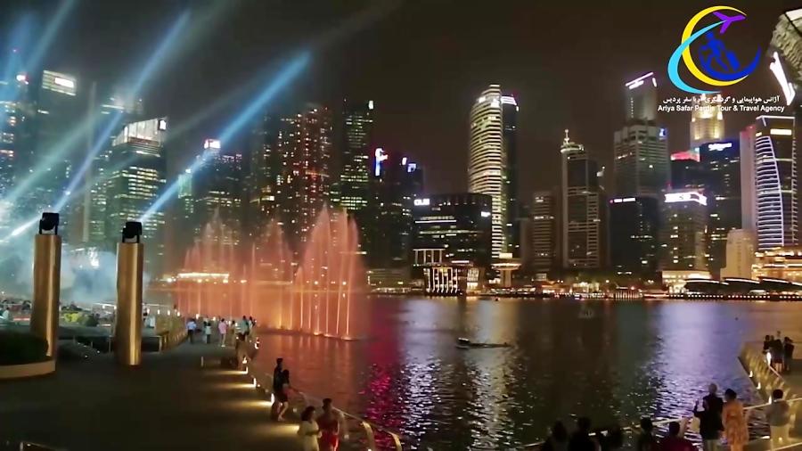 چند دقیقه گردشگری در سنگاپور با دیدن این ویدئو