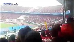 لحظه ورود بانوان به ورزشگاه آزادی برای تماشای فینال آسیا
