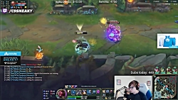 The Most INSANE Lee Sin on Zeyzal's Stream | LoL Stream Moments #121