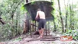 پسر جنگلی - ساخت هیزم دان