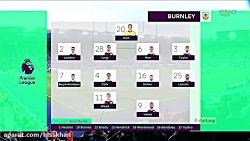 خلاصه بازی لسترسیتی 0-0 برنلی - لیگ برتر انگلیس