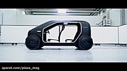 خودروی برقی مفهومی بیومگا سین - پلازامگ