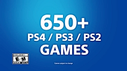 PlayStation Now Subscription - 650+ PS4 PS3 PS2 Games
