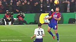 خلاصه بازی کریستال پالاس 0-1 تاتنهام - لیگ برتر انگلیس