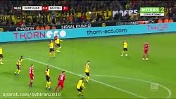 دورتموند 3 - بایر مونیخ 2 (بوندسلیگا 2018 19)